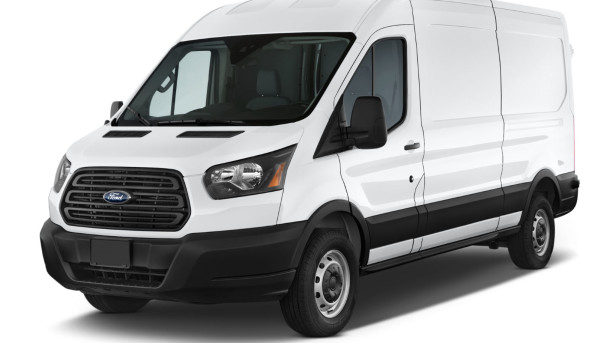 Ford Transit white background