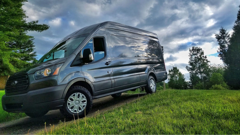 BFGoodrich KO2 Tires on Ford Transit van