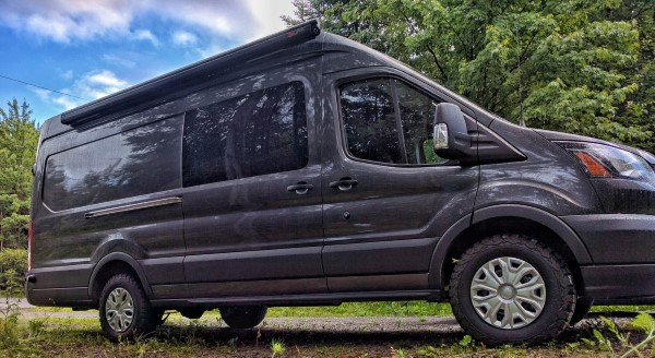 Faroutvan Ford Transit 2016 Diy Campervan Conversion For