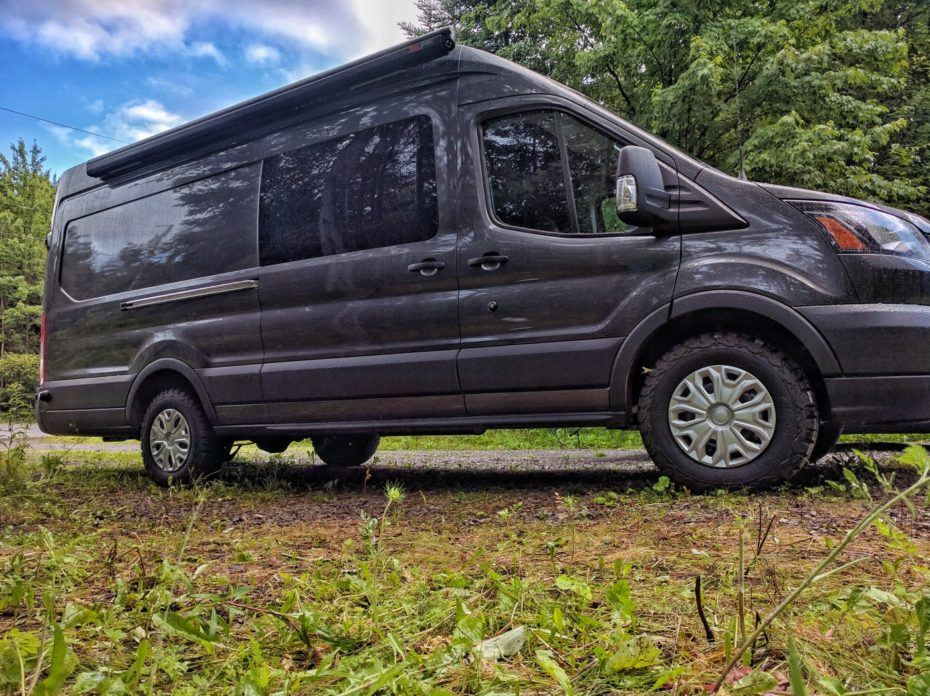 How To Install A Fiamma F45s Awning On A Ford Transit High Roof Faroutride