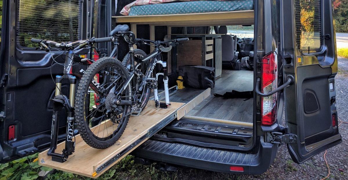 Slide Out Bike Rack Faroutride