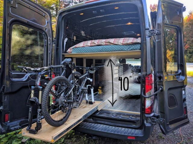 Mtn View Ford >> FarOutVan: Ford Transit 2016 DIY campervan conversion for ...