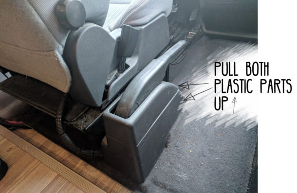 Ford-Transit-Driver-Side-Swivel-Installation-(12-marked)