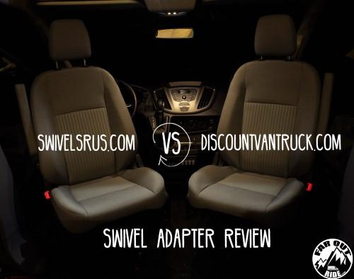 Swivel Review: DiscountVanTruck VS SwivelsRus - Ford Transit