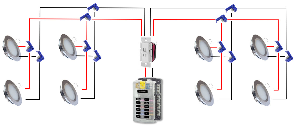 Recessed Light Wiring Instructions