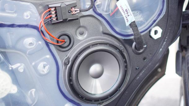 Ford Transit Speakers Upgrade-0459