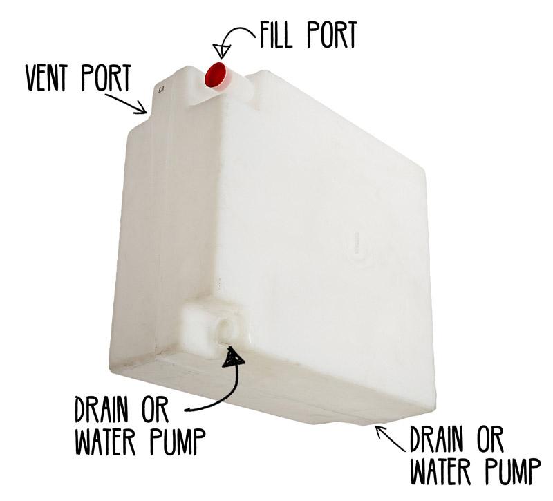 hook up warm watertank