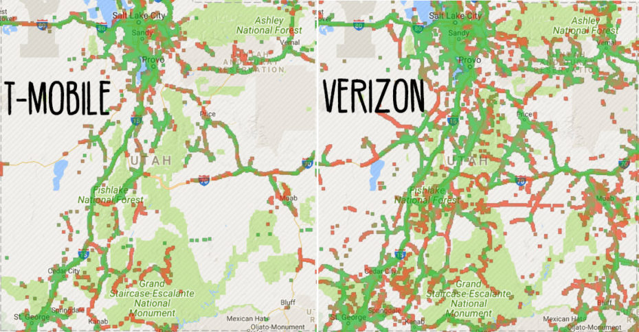 Find-internet-on-the-road-staying-connected-vanlife,-open-signal-T-Mobile-Verizon-Utah