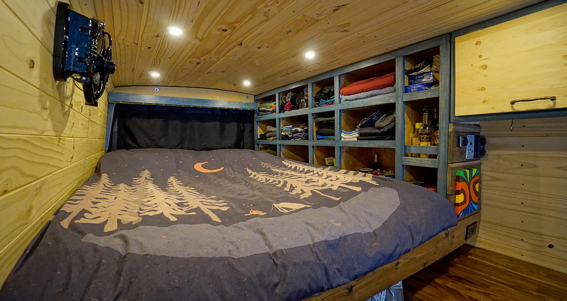 10 Neat Storage Ideas For Diy Van Conversion Faroutride
