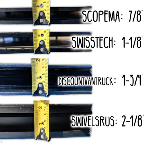 Scopema Swivels Available NOW! - Ford Transit USA Forum