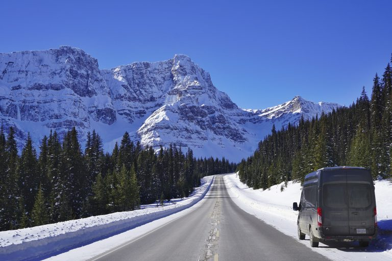 The Icefields Parkway (Highway 93N) Canada