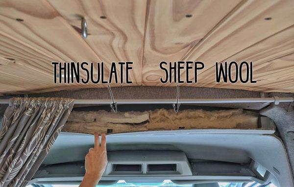 Thinsulate-vs-Sheep-Wool-Headliner-Ford-Transit