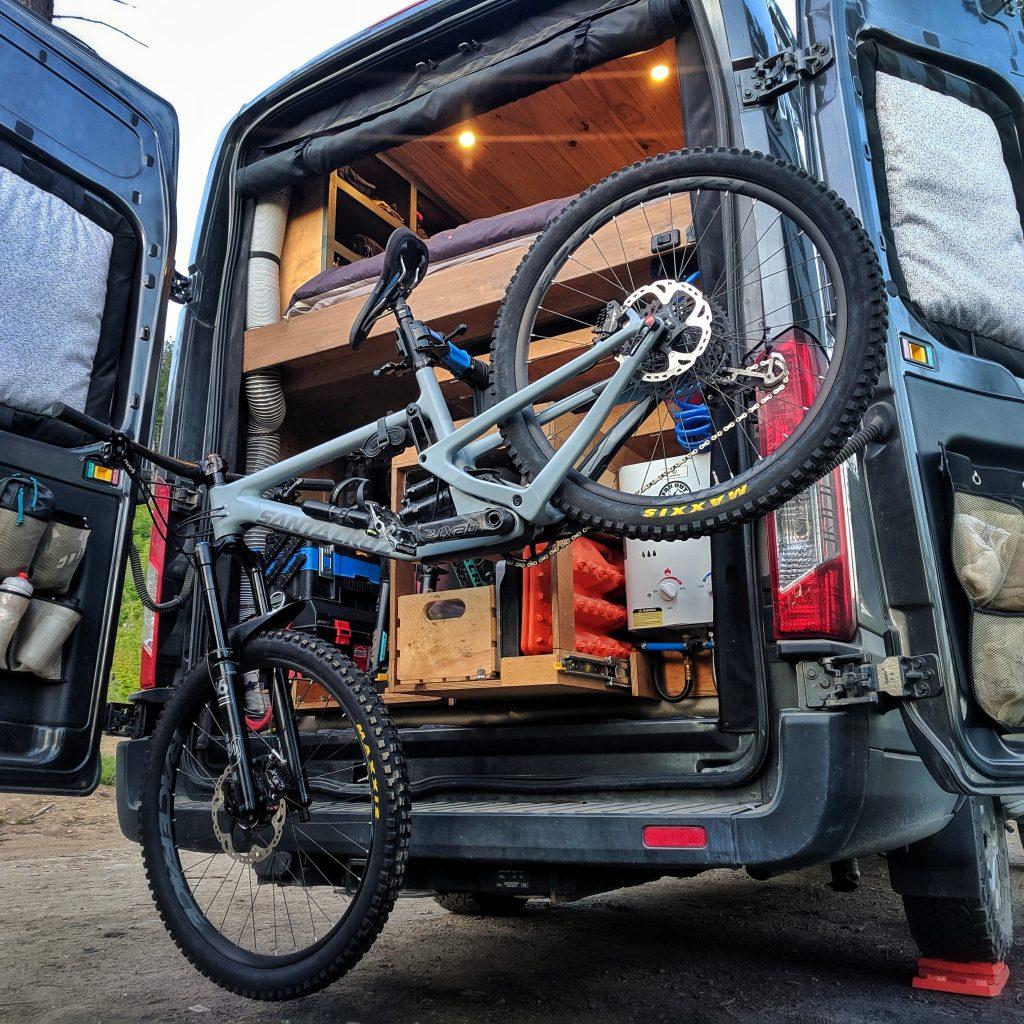 Bike Repair Stand Mountain Bike Van