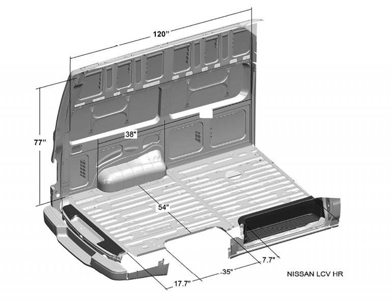 Nissan-NV-Cargo-Van-Interior-Dimensions-(High-Roof)