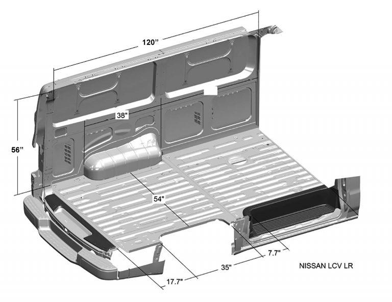 Nissan-NV-Cargo-Van-Interior-Dimensions-(Low-Roof)