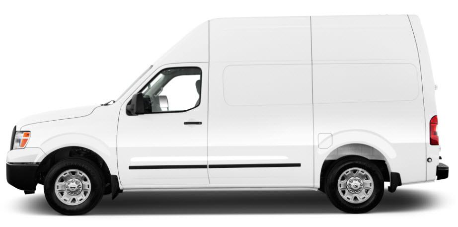 Nissan NV Cargo Van Side View
