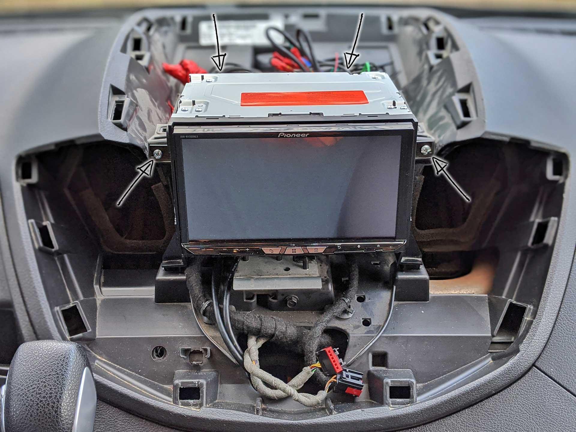 Ford Transit DIY Aftermarket Radio Installation (Pioneer Android/CarPlay) |  FarOutRideFarOutRide.com