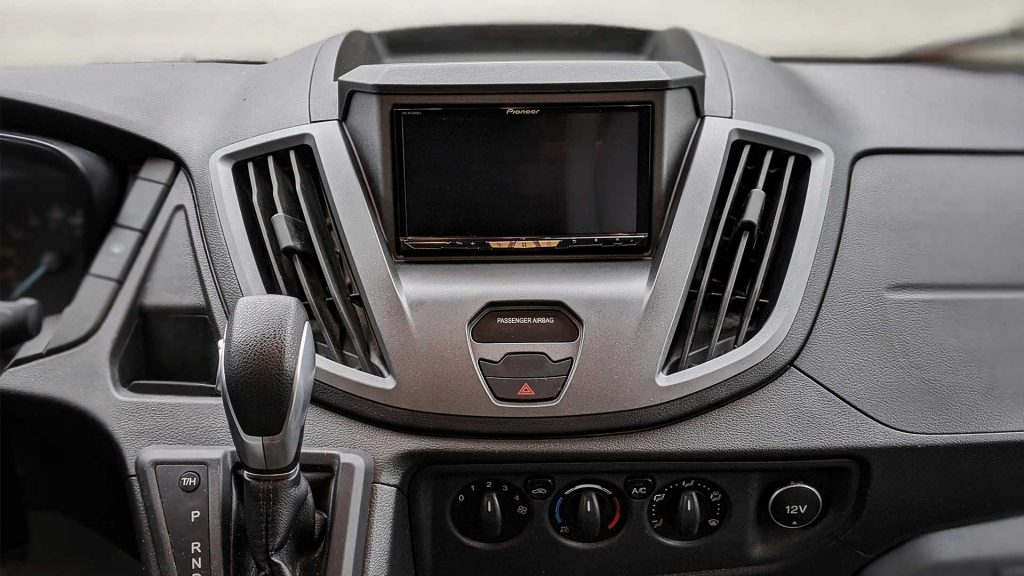 Ford Transit DIY Aftermarket Radio Installation (Pioneer Android/CarPlay) |  FarOutRideFarOutRide.com